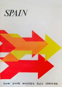 New York World's Fair Spain | Kiki Werth Original Vintage Posters