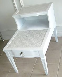 Before and After: Two-Tier End Table