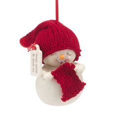 Department 56 Snowpinions Keep Calm and Knit on Ornament