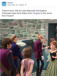 WHAT! I will be looking for this next time i watch Frozen