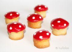 Niedliche Pilzköpfe {Rezept für Kinder Muffins Pilzform - Muffins Halloween}