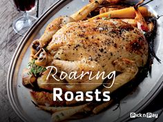 "How do you like our modern ""poulet"" take on a classic French duck L'orange? ✿✿✿ #DailyDish #RoaringRoasts"