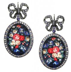 "Axenoff Jewellery ""Solovushka"" earrings"