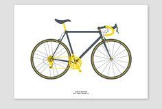 Road bike by Tim George