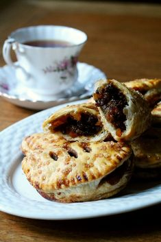 Eccles Cakes (simple homemade puff pastry filled with spiced fruit)   Korena in the Kitchen