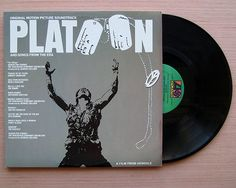 Platoon Original Motion Picture Soundtrack Vinyl Record LP The Doors Jefferson Airplane Otis Redding Smokey Robinson