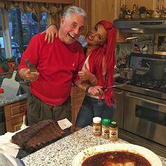 Eva Marie & Dad