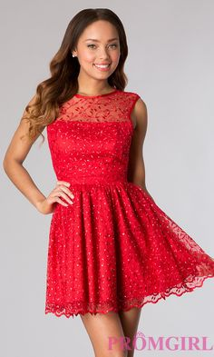 Short Party Dress Style: TW-4099 Front Image