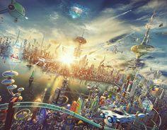 rogeriodemetrio.com: Assista Futurama em 3D!!!