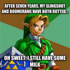 #LegendofZelda Ocarina of Time Logic Fun