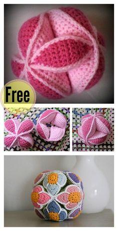 Crochet Amish Puzzle Ball Free Pattern