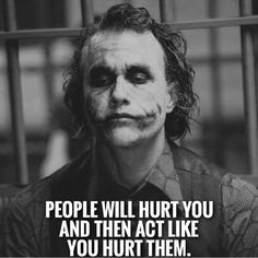 Joker is here with some new inspirational quotes, check it out…. Joker Qoutes, Batman Quotes, Best Joker Quotes, Epic Quotes, Dark Quotes, Film Quotes, Badass Quotes, Strong Quotes, Wisdom Quotes