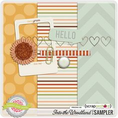 Into the Woodland Sampler by Tickled Pink Studio