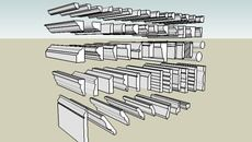 3D Model of rodapes