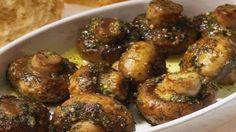 Opečené slavnostní houby s česnekem a bazalkou! Stačí jen několik ingrediencí – neuvěřitelně lahodná chuť! | Vychytávkov