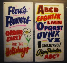 Dad's Paper Signs