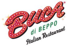 Fresh, authentic Italian food served family style. Perfect restaurant for small parties or large banquets. Make a reservation online at Buca di Beppo.