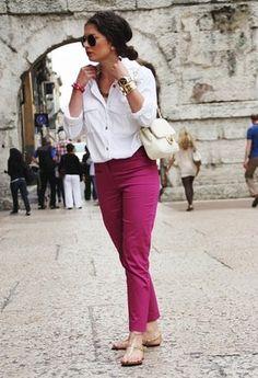 H  Shirt / Blouses, Hallhuber  Pants and Love Moschino  Bags
