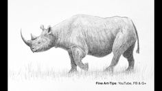 "How to Draw a Realistic Rhino - Narrated This video shows how to draw a realistic black rhino with pencil. For long tutorials subscribe to Patreon: http://ift.tt/2mBvkZr My drawing book: http://amzn.to/1K7L8Ed Visit me on FB: http://ift.tt/PozEDH My website: http://ift.tt/Ur6xFM Do you want to help me translating it into your language? (Note: First check if it hasnt been translated already by pressing the ""CC"" button on the lower part of the video). To translate the title of the video and…"