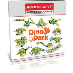 """The WeDo """"Dino Park"""" course gives unique opportunity to revive the prehistoric world in your classroom! Do you want to introduce children to the Dinosaur History, Lego Wedo, Dino Park, Educational Robots, Prehistoric World, Child Face, Legos, Curriculum, Classroom"""