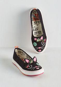 Animal Imprints Sneaker in Cat, #ModCloth