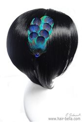 Hair Accessories-Peacock Headband $14.99