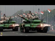 PMO India - Republic Day Parade 2017 : Full Army Military Assets Segment [1080p] - YouTube