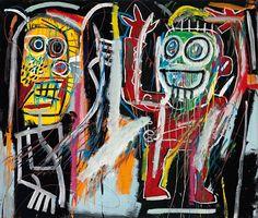 Jean-Michel Basquiat – Dustheads, 1982