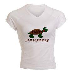 I am Running - shirt
