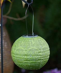 Another great find on #zulily! Moss Globe Soji Solar Stella Lantern #zulilyfinds
