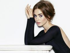Lily Collins for stellarmagazine, May 2015