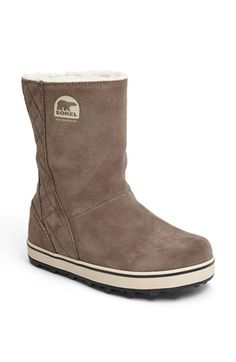 Sorel 'Glacy™'  Waterproof Boot available at #Nordstrom- NEW WINTER BOOTS :)