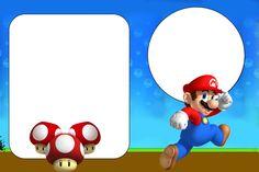Kit digital para impressão Super Mario Bros