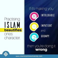 via @bilalphilips - The Prophet (peace and blessings be upon him) said Righteousness is good character. (Sahih Muslim) Actions speak louder than words as they say. So by treating people well we become living proof of the truth of the Message of Islam and its Messenger. Dr. Bilal #Bismillah #Allah (ﷻ) #Islam #Sunnah #Muslim #Deen #Islamic