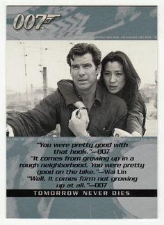 James Bond - The Quotable # 90 - Tomorrow Never Dies