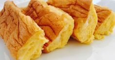 クックパッドニュース掲載感謝 粉・油不使用!卵と砂糖だけで、半熟カステラの様な、ふわふわパウンドケーキが焼けます♡