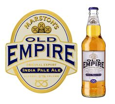 Damos la bienvenida a la exquisita:  >> OLD EMPIRE Ipa <<  Famosa cerveza que se empezó a elaborar en el siglo XIX para saciar la sed de los expatriados y soldados coloniales ingleses en la India. (Marston's Beer Company-Inglaterra; Indian Pale Ale; 5,7%; 50 cl)