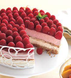 Chocolate Truffle Pie with Orange-Champagne Sabayon and Strawberries ...
