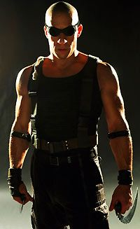 There's Vin Diesel....which is great, then there's RIDDICK, who is FANTASMICAL ;)