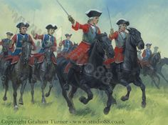 Charge of the Musketeers at Fontenoy, 1745