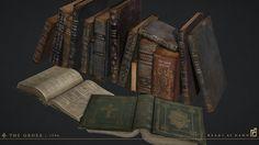 ArtStation - Worn Book Set, Scot Andreason