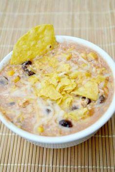 Creamy Black Bean Chicken Soup | Mode