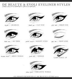 Cat eyeliner is my favorite!