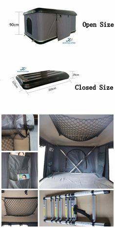 10 Beaming Clever Hacks: Shed Roofing Felt circular roofing design. Roof Rack Tent, Diy Roof Top Tent, Top Tents, Patio Roof, Accessoires Camping Car, Accessoires 4x4, Truck Camping, Van Camping, Camping Gear