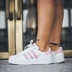 SUPERSTAR 80S Sneakers laag blush pinkoffwhite Adidas