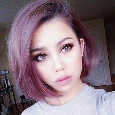 Image result for dusty lavender hair
