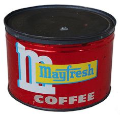 Vintage Packaging: Coffee Tins from the 40s and50s