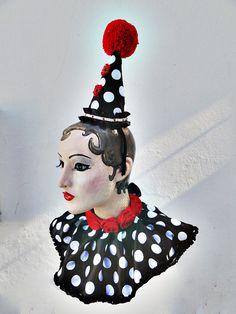 Clown Collar Circus Costume Burlesque Sexy by BatcakesCouture, $54.99