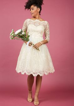 Chi Chi London Gilded Grace Lace Dress in Champagne in 18, #ModCloth