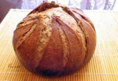 Sötét német rozskenyér Bread Baking, Recipe Box, Pain, Crackers, Ethnic Recipes, Food, Hungary, Buns, Germany